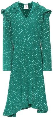Vetements Printed silk dress