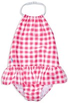 Ralph Lauren Girls' Gingham Swimsuit - Baby