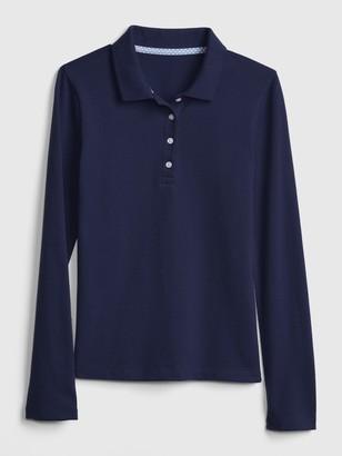 Gap Kids Uniform Stretch Polo Shirt Shirt