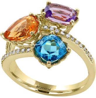 Effy 14K 3.63 Ct. Tw. Diamond & Gemstone Ring