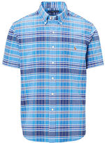 Big & Tall Polo Ralph Lauren Plaid Cotton Oxford Shirt