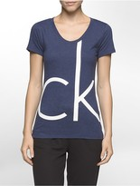 Calvin Klein One Logo V-Neck T-Shirt