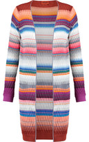 Missoni Textured Crochet-Knit Cotton-Blend Cardigan