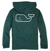 Vineyard Vines Boys' Long-Sleeve Whale Hoodie Pocket Tee - Big Kid