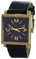 Marc by Marc Jacobs MBM1279 Truman Black Dial Black Leather Womens 30mm Watch