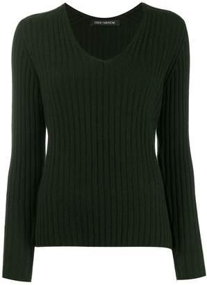 Iris von Arnim long-sleeve fitted sweater
