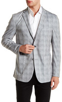 Vince Camuto Plaid Slim Fit Blazer