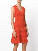 M Missoni wave knit sleeveless dress - women - Cotton/Acrylic/Polyamide/Wool - 38