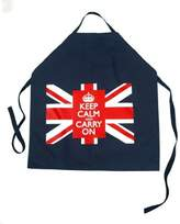 Decorative Things Keep Calm and Carry On Apron with Union Jack