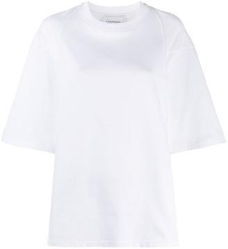 Lourdes short-sleeve box-fit T-shirt