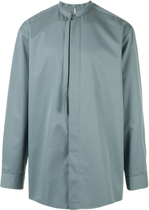 Oamc long sleeved boxy fit shirt