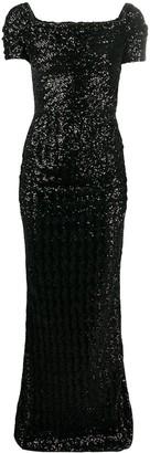 Dolce & Gabbana Sequinned Evening Dress