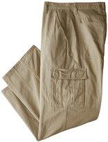 Wrangler Authentics Men's Big & Tall Classic Cargo Twill Pant