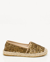 Le Château Spanish-Made Sequin Espadrille