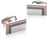 Paul Smith Rainbow Edge Enamel Cufflinks