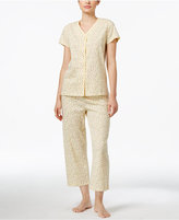 Charter Club Flower-Print Pajama Set, Only at Macy's