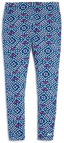 Vineyard Vines Girls' Whale Tail Print Leggings - Big Kid