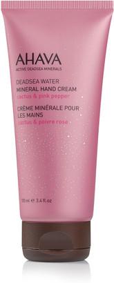 Ahava Mineral Hand Cream Cactus Pink Pepper 100Ml