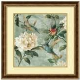 Amanti art ''Birds of a Feather I'' Floral Framed Wall Art