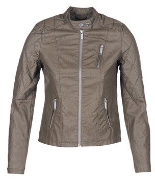 S'Oliver REZATO women's Leather jacket in Brown