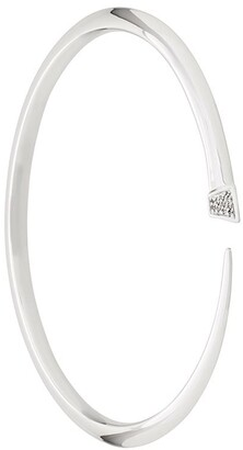 Shaun Leane slim diamond Tusk bangle