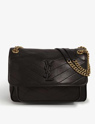 Saint Laurent Niki medium leather cross-body bag