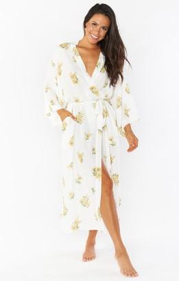 Show Me Your Mumu Clover Kimono