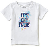 Nike Baby Boys 12-24 Months It s Go Time Glow-In-The-Dark Graphic Short-Sleeve Tee