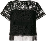 Three floor Lace Daze blouse
