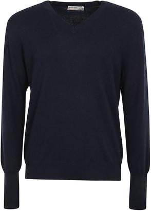 Ballantyne V-neck Plain Pullover