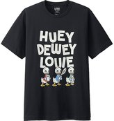 Uniqlo Men Disney Project Short Sleeve Graphic T-Shirt