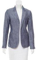 Joie Linen Structured Blazer