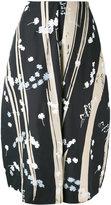 Jil Sander Dryas printed skirt - women - Silk - 34