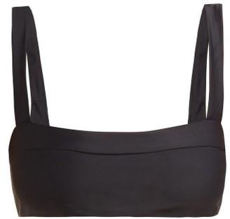 JADE SWIM Coast Bikini Top - Womens - Black