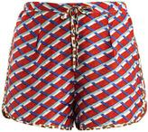 Easton Pearson Take Away Nouveau Rococo shorts