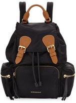 Burberry Nylon Backpack, Black