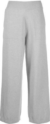 Barrie Wide Cashmere Trousers