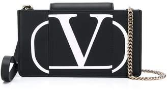 Valentino Garavani chain-strap VLOGO wallet