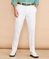 Brooks Brothers Cotton Stretch Herringbone Trousers