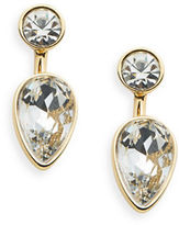 ABS by Allen Schwartz Rhinestone Drop Earrings
