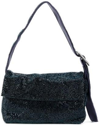 Benedetta Bruzziches Metallic-Effect Shoulder Bag