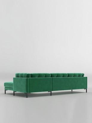 Swoon Landau Fabric Right Hand Corner Sofa