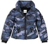 SAM. Girls' Camo Freestyle Down Jacket - Big Kid