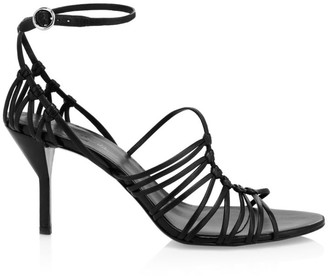 3.1 Phillip Lim Lilly Strappy Leather Ankle-Strap Sandals