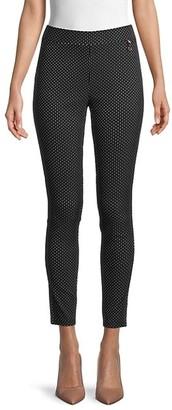 Tommy Hilfiger Dot-Print Cropped Pants