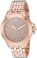 Juicy Couture Women's 'MALIBU' Quartz and Stainless Steel Casual Watch, Color:Rose Gold-Toned (Model: 1901594)