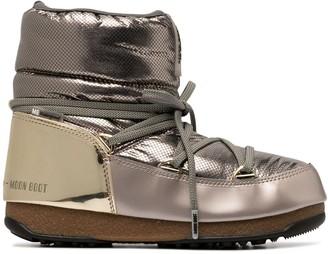 Moon Boot Metallic Moon Boots