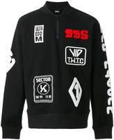 Kokon To Zai Patches sweatshirt
