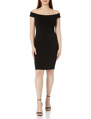 Brinker & Eliza Women's Off The Shoulder Sheath Dress