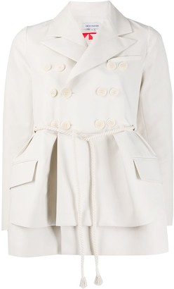 Dice Kayek Oversized Peplum Jacket